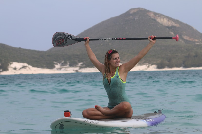 Stand Up Paddle and Yoga Expert Bianca Guimarães