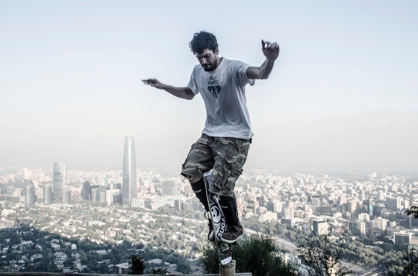 Skate through the Mountains with Alexandre Feliz